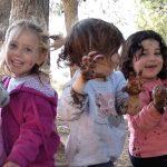 ילדים בגן יער